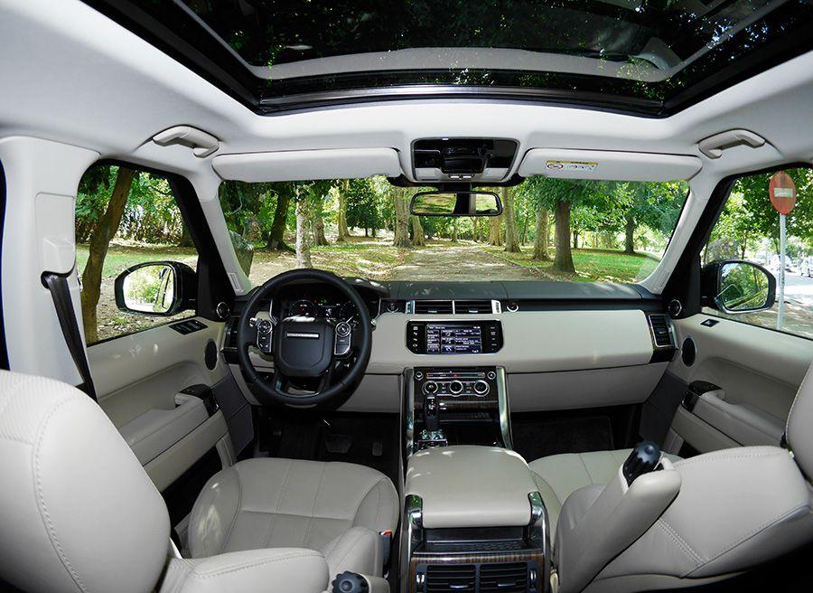 Prueba Range Rover Sport HSE SDV6 290 CV, interior, Rubén Fidalgo