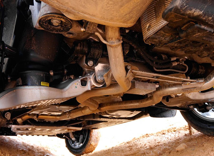 Prueba Range Rover Sport HSE SDV6 290 CV, bajos, Rubén Fidalgo