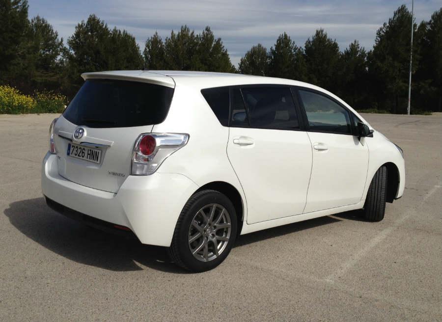 El Toyota Verso es uno de los monovolúmenes más populares del mercado.