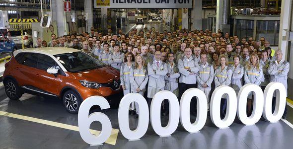 La planta de Renault en Valladolid fabrica el vehículo 6 millones