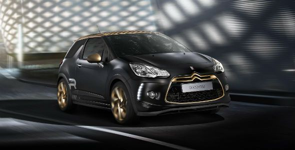 Citroën DS3 Racing Gold Mat, con 202 CV