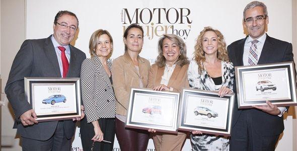 Opel Adam, Ford Kuga, Peugeot 2008 y Seat León SC, ganadores de los II Premios Motor de Mujer hoy