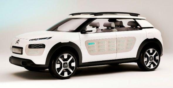 El Citroën C4 Cactus tendrá Airbumps