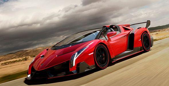 Lamborghini Veneno Roadster: un huracán con vientos de 355 km/h