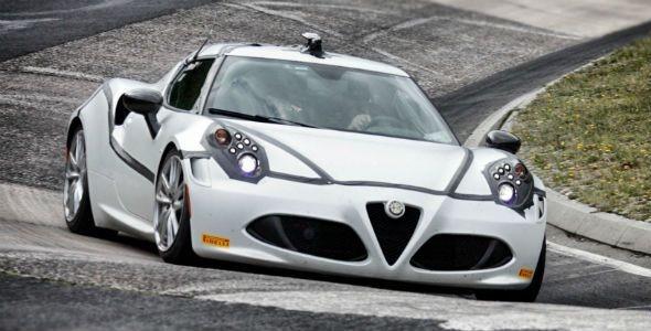 Alfa Romeo 4C, al límite en Nürburgring
