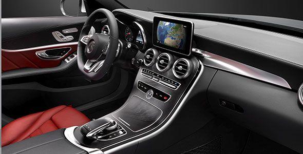 Primeras imágenes interiores del nuevo Mercedes Clase C MY 2014