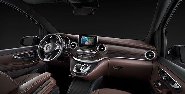 Así es el interior del nuevo Mercedes Clase V MY 2014