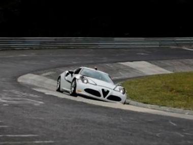 Alfa Romeo 4C: vídeo en Nürburgring