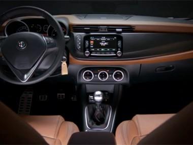 Alfa Romeo Giulietta 2014: interior