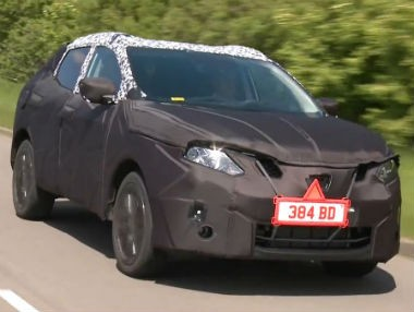 Vídeo espía del nuevo Nissan Qashqai