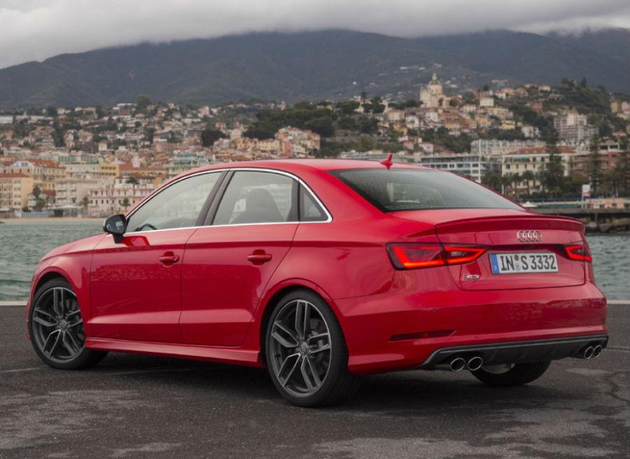 El aspecto del Audi S3 Sedán nos deja claro que no estamos ante un coche cualquiera.