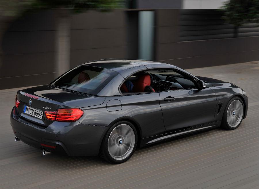 El techo del BMW Serie 4 Convertible tarda menos de 20 segundos en abrirse o cerrarse.