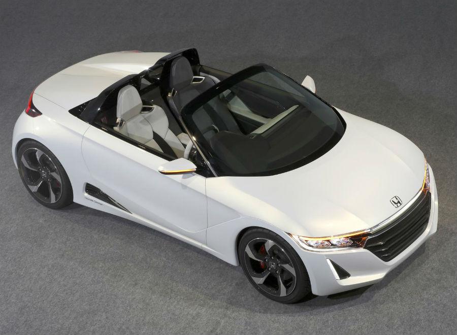 El Honda S660 Concept se presenta en el Salón de Tokio.