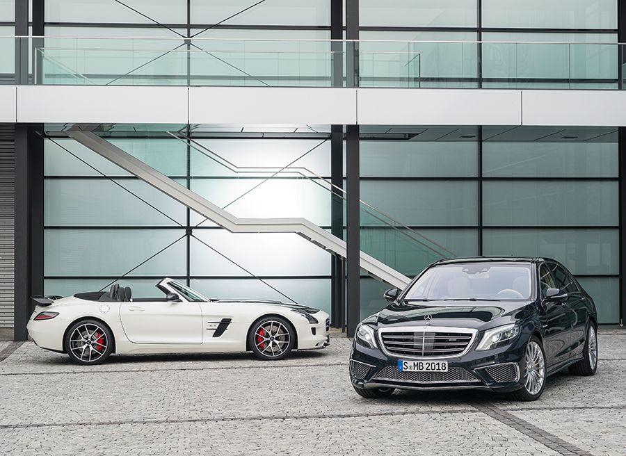 Mercedes SLS AMG final Edition Tokio 2013