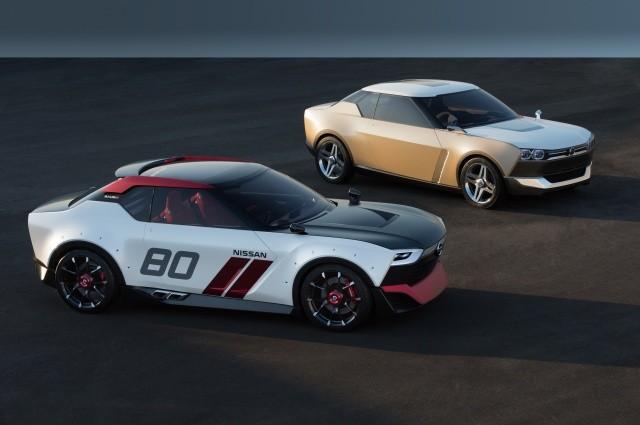 Nissan presenta en Tokio las versiones de calle y circuito del IDx Concept.