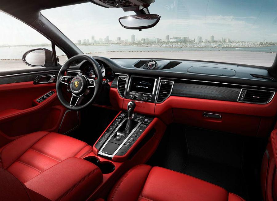El interior del Porsche Macan mantiene un ADN 100% Porsche.