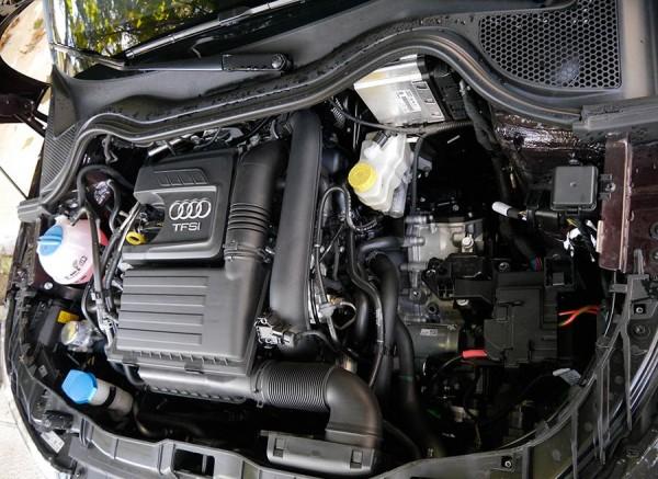 Prueba Audi A1 1.4 TSI S-Line sistema desconexion selectiva cilindros, motor, Rubén Fidalgo