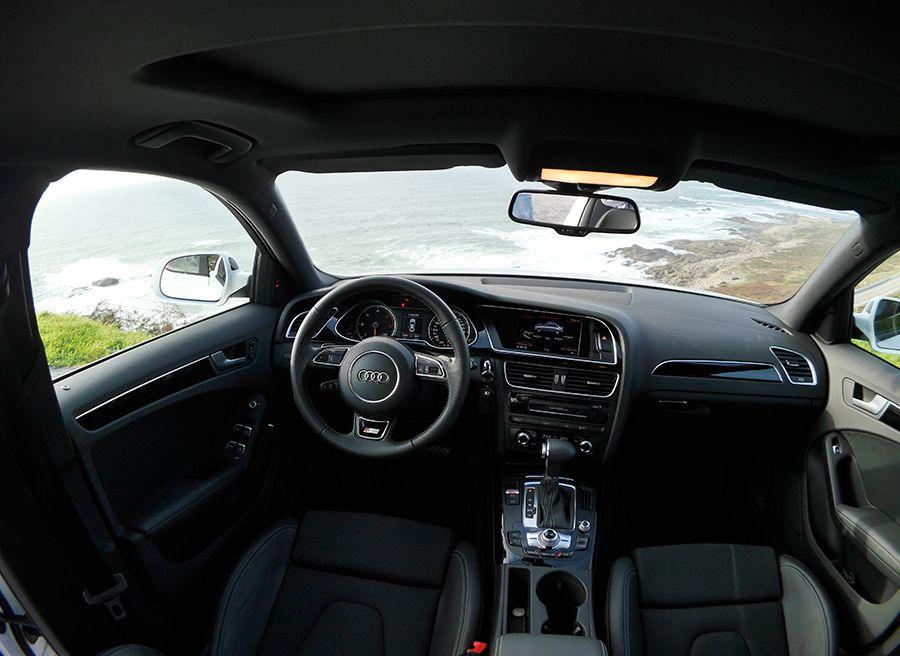Prueba Audi A4 2.0 TDi Multitronic MY 2012, interior, Rubén Fidalgo