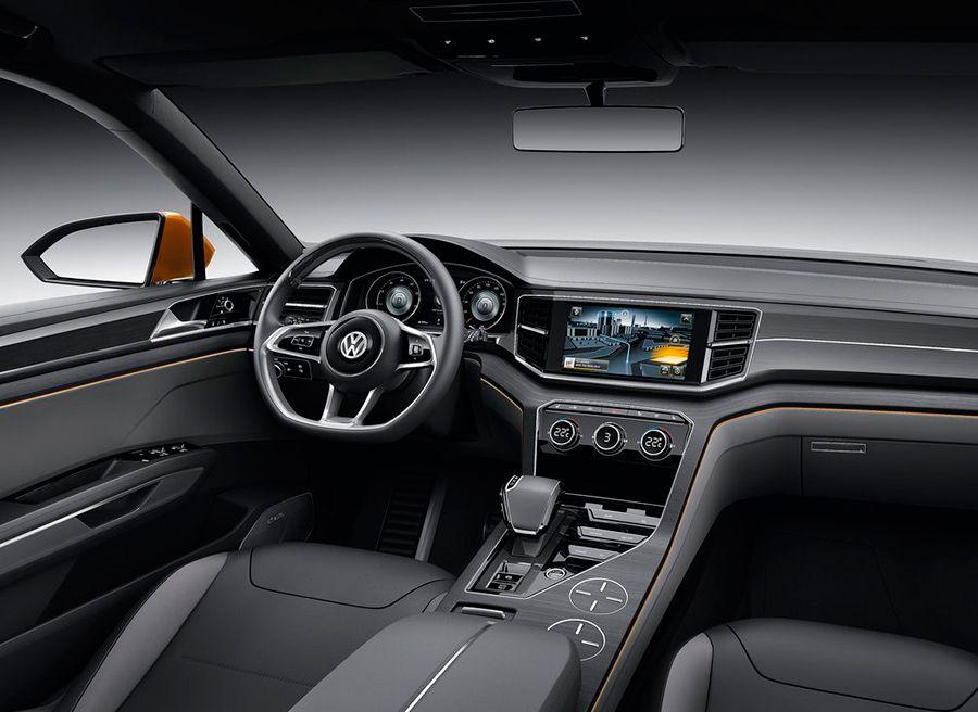 VW CrossBlue Coupé Concept Los Ángeles 2013
