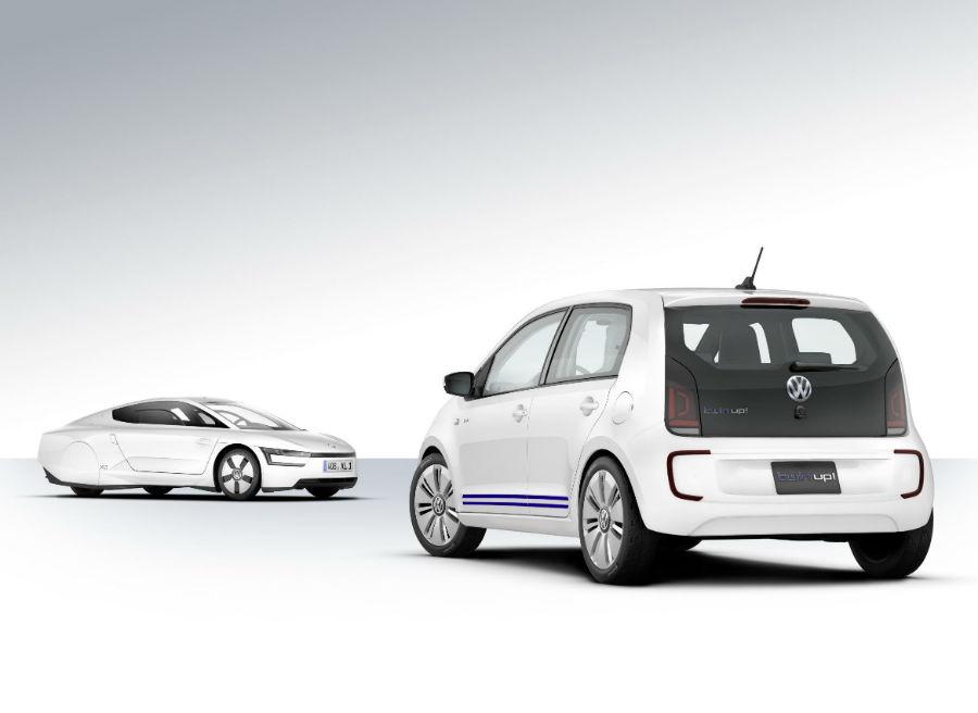 El Volkswagen Twin Up se presenta en Tokio, donde también podremos ver el XL1.