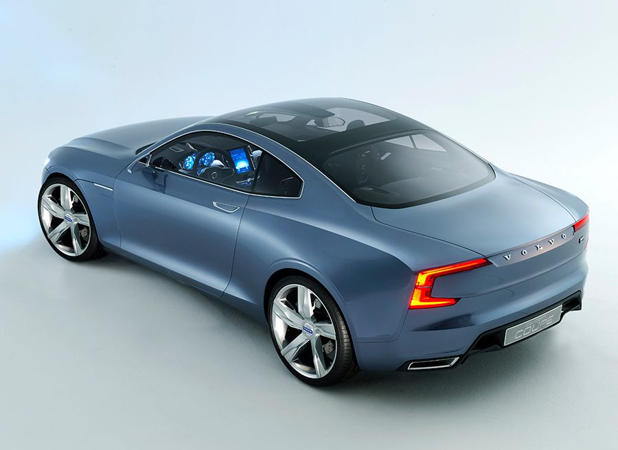 Volvo Concept Coupé Tokio 2013
