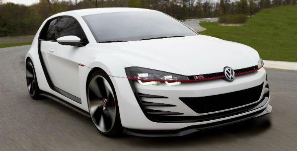 VW Golf Design Vision GTI: 503 CV en Los Ángeles
