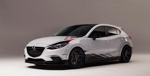 Mazda presenta 4 concepts en el SEMA de Las Vegas 2013