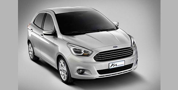 Se presenta en Brasil el nuevo Ford Ka Concept 2014