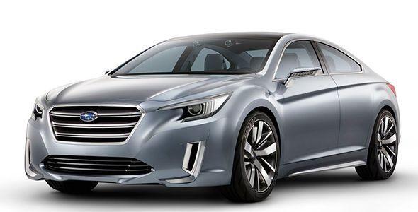 El Subaru Legacy Concept se presenta en Los Ángeles 2013