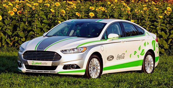 Ford Fusion Energi Coke: un Mondeo hecho con botellas de Coca-Cola