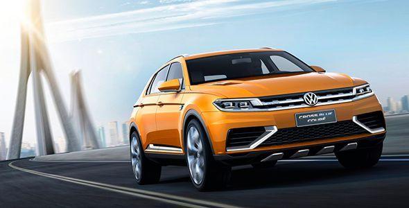 El VW CrossBlue Coupé Concept llega a Los Ángeles 2013