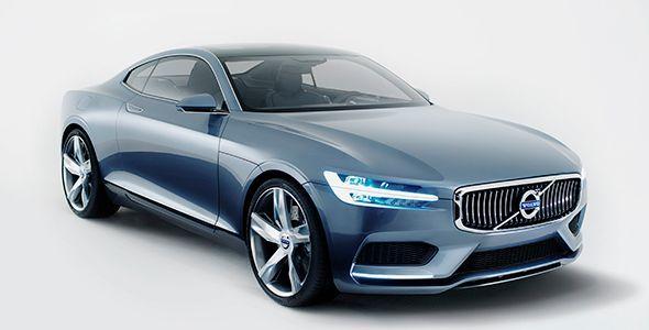 Volvo Concept Coupé: seducción en el Salón de Tokio 2013