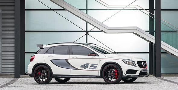 Nuevo Mercedes GLA 45 AMG Concept, con 360 CV y 450 Nm