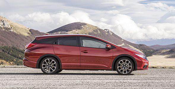 Honda Civic Tourer 2014: a la venta en febrero