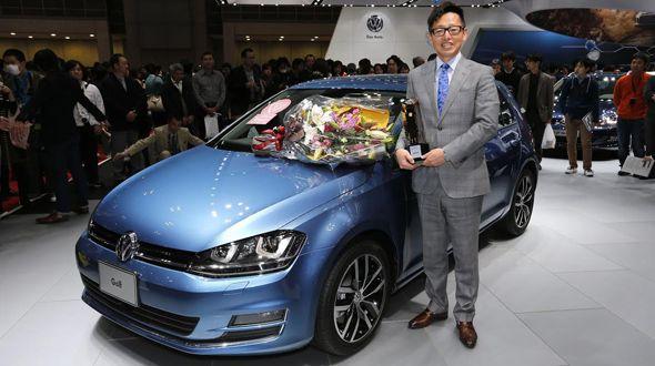Volkswagen Golf, primer Coche del Año en Japón fabricado en Europa
