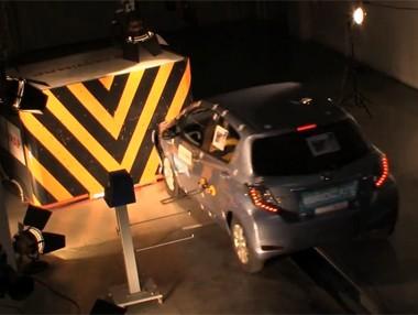 Asistimos a un crash test de automóviles
