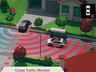 Así funciona el radar de tráfico cruzado del Honda Civic Tourer 2014