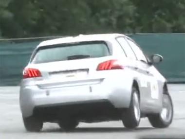 Peugeot 308: maniobra de esquiva