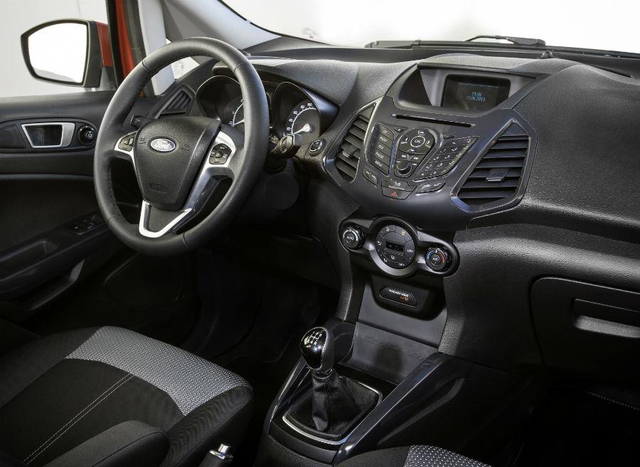 El Ford EcoSport presenta un equipamiento de serie muy completo.