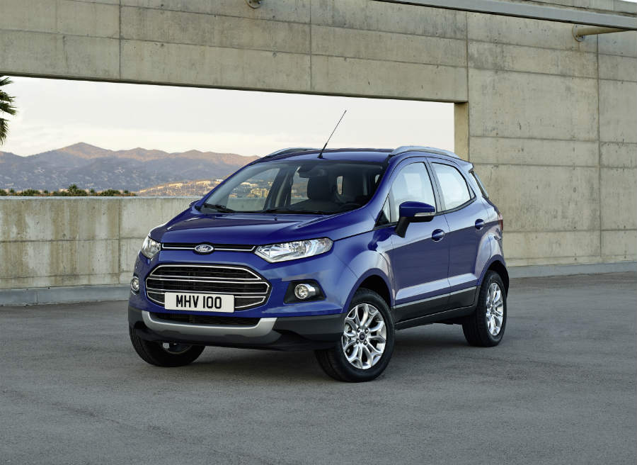El Ford EcoSport llega al mercado con un precio único de 17.500 euros.