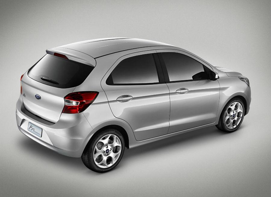 Nuevo Ford Ka Concept.