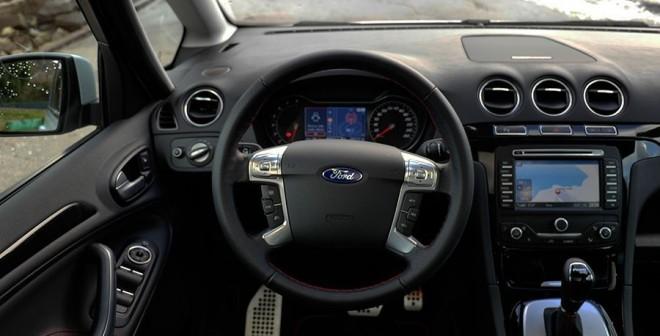 Prueba Ford S Max Titanium S 240 CV powershift 2010, interior, Rubén Fidalgo