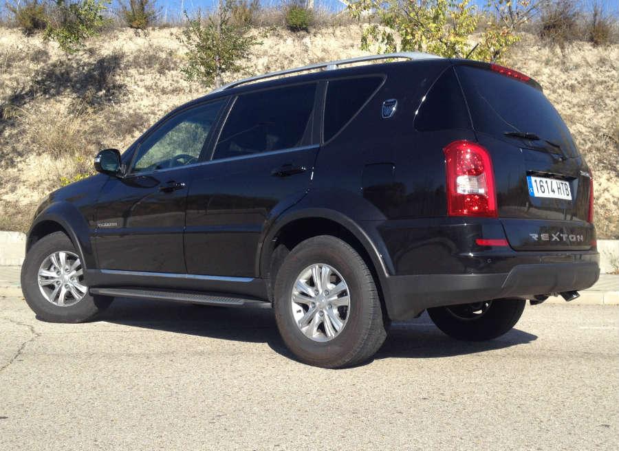 El SsangYong Rexton ofrece cualidades off-road que otros SUV de siete plazas no pueden ni soñar.