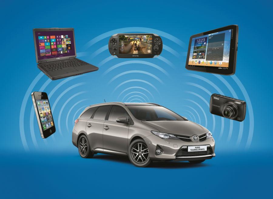 El Toyota Auris Touring Sports cuenta ahora con una mayor posibilidad de personalización.