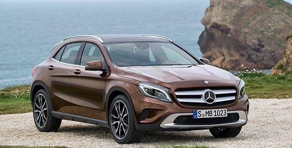 El Mercedes GLA 2014, todas las imágenes