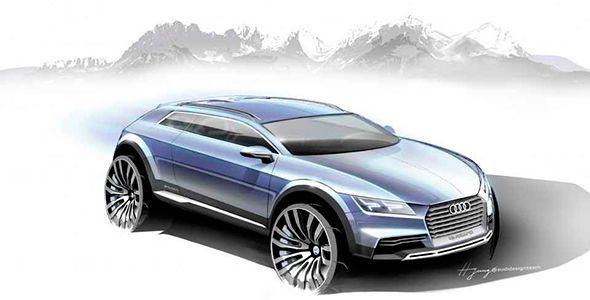 Audi presenta en el Salón de Detroit 2013 un nuevo prototipo crossover