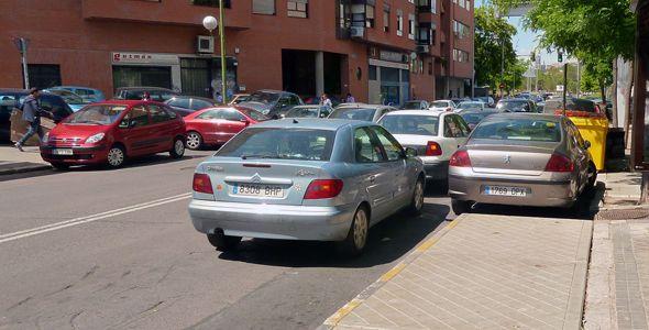 Buscar aparcamiento, lo que más estresa a los conductores