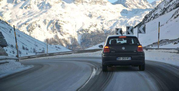 Los jóvenes españoles no están preparados para conducir en invierno