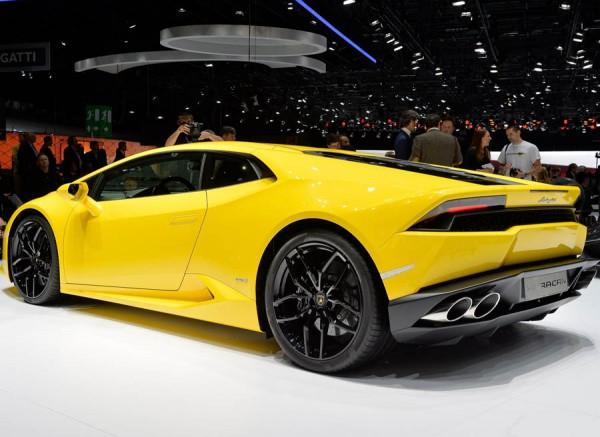 El Lamborghini Huracán puede acelerar de 0 a 100 km/h en tan solo 3,2 segundos.