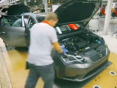 Así se fabrica el Seat León